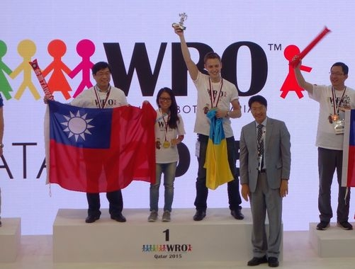 Taiwanese team grabs champion title in World Robot Olympiad
